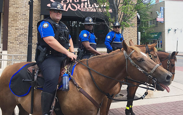LRPD Mounted Patrol